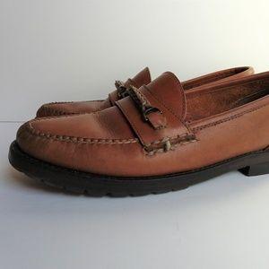 Bass Martita Womens Sz 8 loafer brown dress shoe